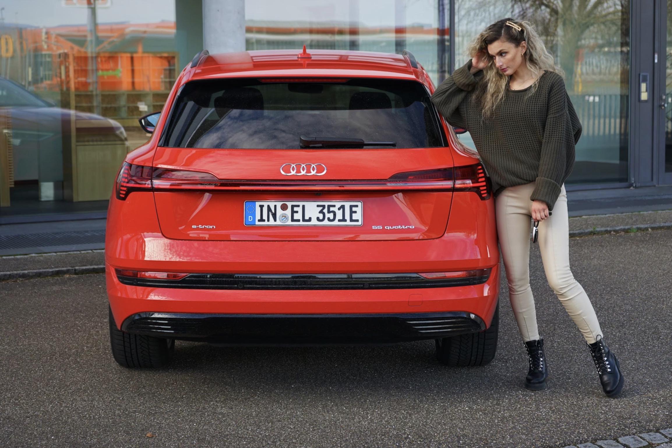 Audi e-tron 55 quattro 2020 mit 408 PS