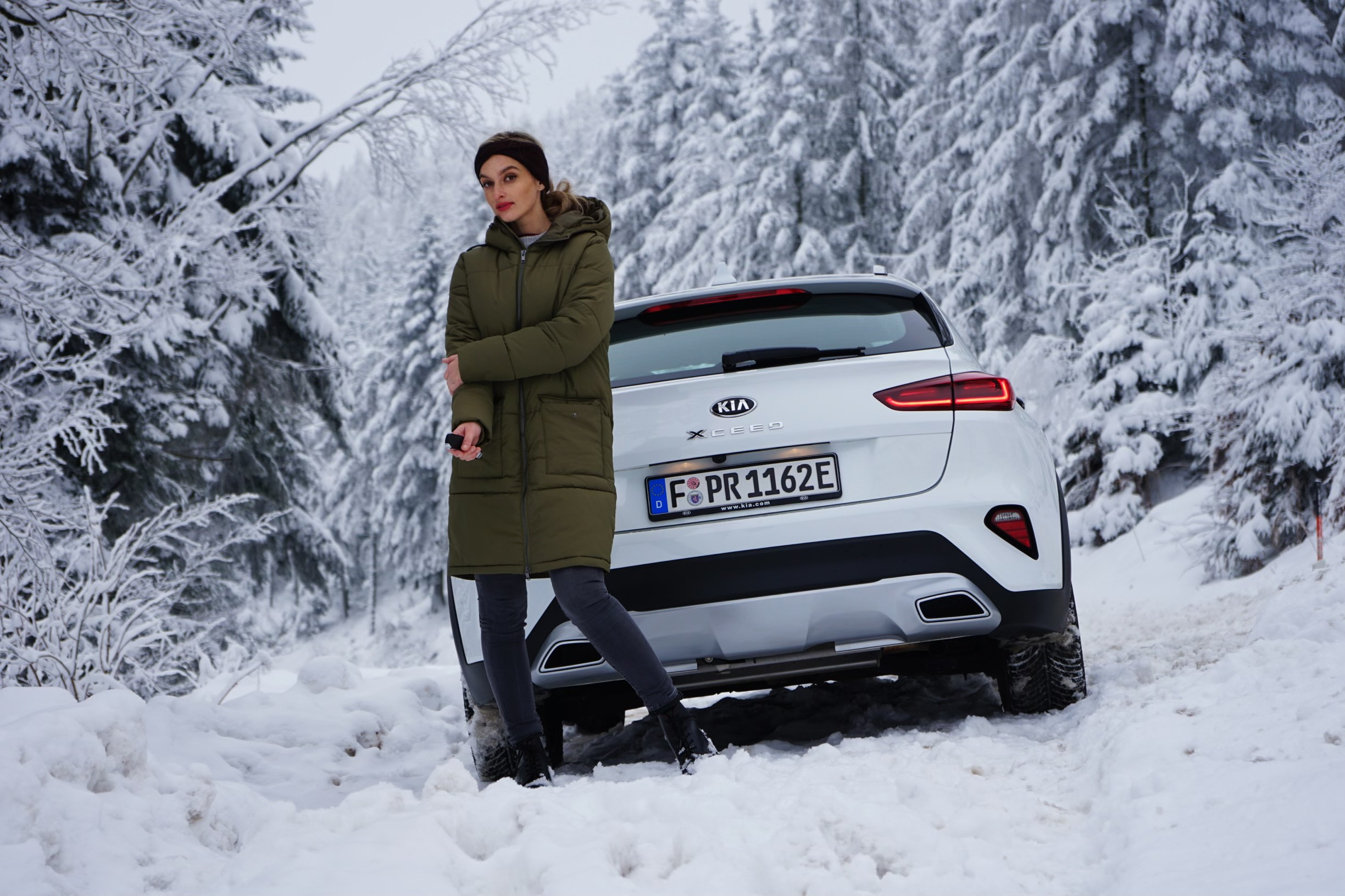 Kia XCeed Plug-in Hybrid 2021 – Snow-Check